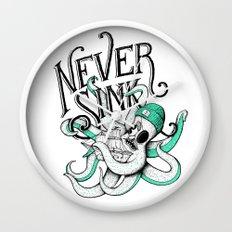 Never Sink Wall Clock