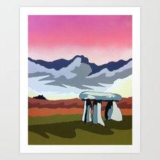 Lanyon Quoit Art Print
