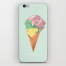 Summer kiss iPhone & iPod Skin
