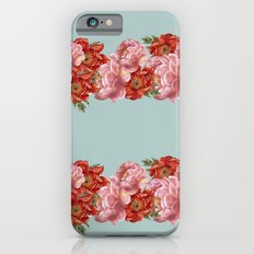 vintage floral iPhone 6s Slim Case
