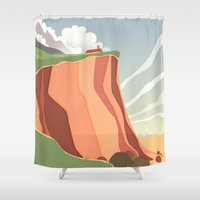 fairy landscape Shower Curtain