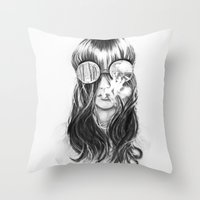 You Are Not Crazy Throw Pillow