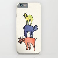 3 Billy Goats Up iPhone 6 Slim Case