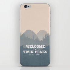 Welcome to Twin Peaks v2 iPhone & iPod Skin