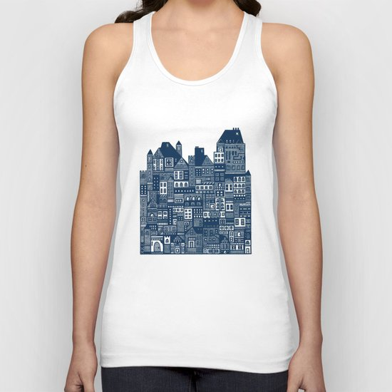 The Long Hall Unisex Tank Top