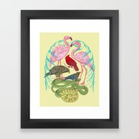 Wild Anatomy II Framed Art Print