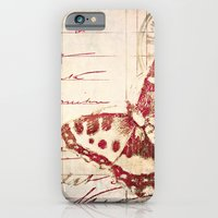 iPhone & iPod Case featuring red winged by inourgardentoo