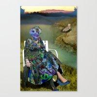 Spacious Shame Canvas Print
