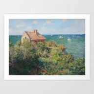 Fisherman's Cottage At V… Art Print