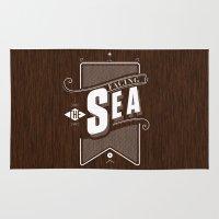 Facing The Sea Rug