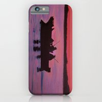Fishing In The Sunset iPhone 6 Slim Case