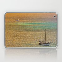 Sailing From The Sunset Laptop & iPad Skin