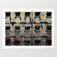 Facade Of Neglect Art Print