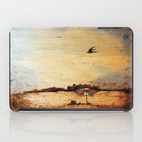 A Day at the Beach iPad Case