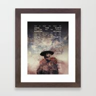 This Is What You Shall D… Framed Art Print
