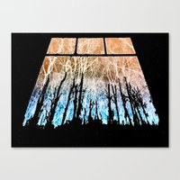 Veins Of Stars Canvas Print