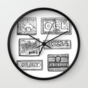 Papel de fumar Wall Clock