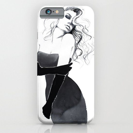 'Gloves'  Illustration iPhone & iPod Case