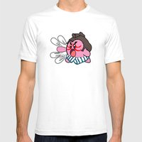 E Kirby Mens Fitted Tee White SMALL