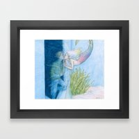 Skinny Love Framed Art Print
