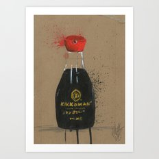 Diddie Doodle the Soy Sauce Art Print