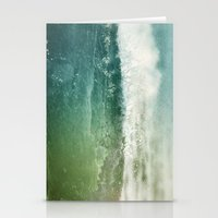 Vagues Jumelles Stationery Cards