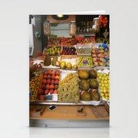 spanish produce  Stationery Cards