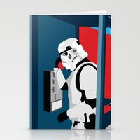 Stormtrooper Phone Home Stationery Cards