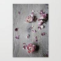 The Wild Flowers Grows H… Canvas Print