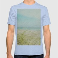 Coastal Mens Fitted Tee Athletic Blue SMALL