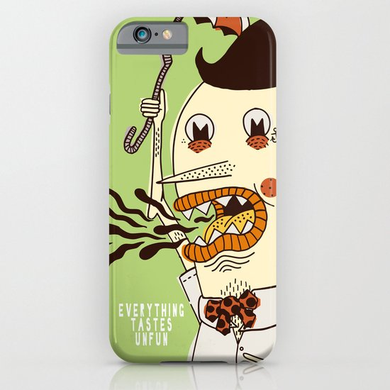 Everything Tastes Unfun iPhone & iPod Case