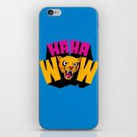 HAHA WOW COUGAR iPhone & iPod Skin