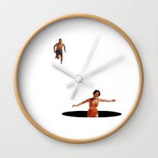 Lost Again Wall Clock