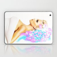THE BRIGHT SIDE OF AN ANGEL Laptop & iPad Skin