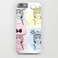 iPhone & iPod Case featuring Mouse Ears by HarrietAliceFox