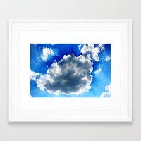 Cloudscape Framed Art Print