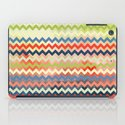 Watercolor Chevron iPad Case