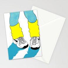 Rainbow Gossip - Blue Stationery Cards