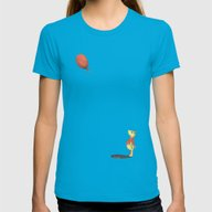 Oh Bother... Womens Fitted Tee Teal SMALL