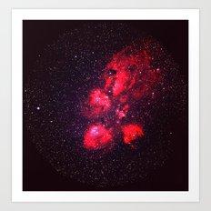 All Those Stars Art Print