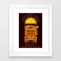 I Giveth - 056 Framed Art Print