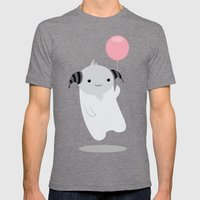 My Little Balloon Mens Fitted Tee Tri-Grey SMALL