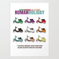 Roman Holiday Art Print