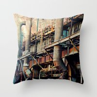 Pipe Dreams II  Throw Pillow