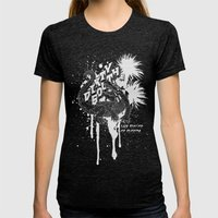 DIRTY SOUTH: The Flavor of Florida Womens Fitted Tee Tri-Black SMALL