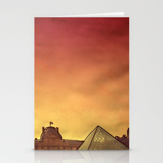 Louvre Stationery Card