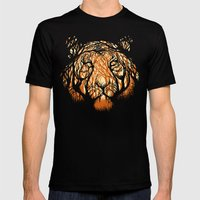 Hidden Hunter Mens Fitted Tee Black SMALL