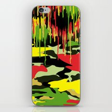 Camouflage pop iPhone & iPod Skin