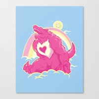 Curse of The CareWere! Canvas Print