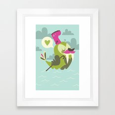 I'm the walrus Framed Art Print
